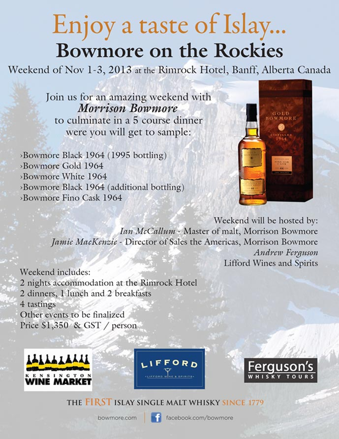 Bowmore on the Rockies